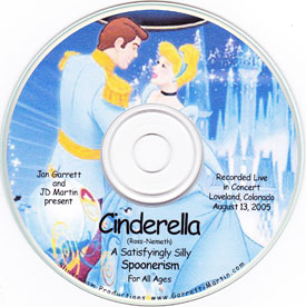 Cinderella CD Cover